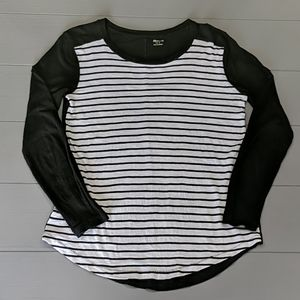 Madewell Whisper Cotton Long Sleeve T-shirt Size S
